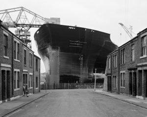 Tyne Pride at the end of the street, Wallsend