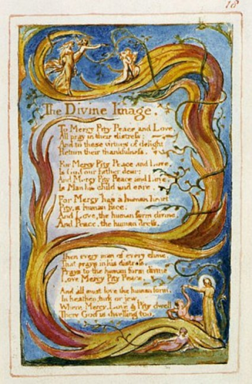 The radical imagery of William Blake