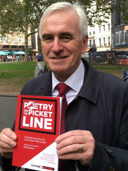 Poetry on the Picket Line