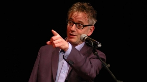 Luton, croutons, class and John Hegley