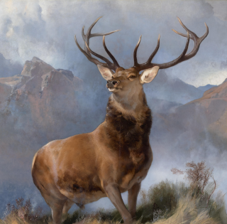 The Monarch of the Glen Edwin Landseer 1851