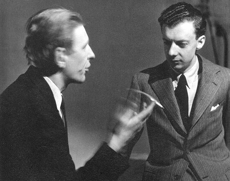 MQ RR Auden and Britten