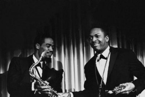 John Coltrane with Eric Dolphy